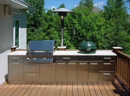 Fesselnde Outdoor Küche Aus Edelstahl Schränke Outdoor-Küche ...