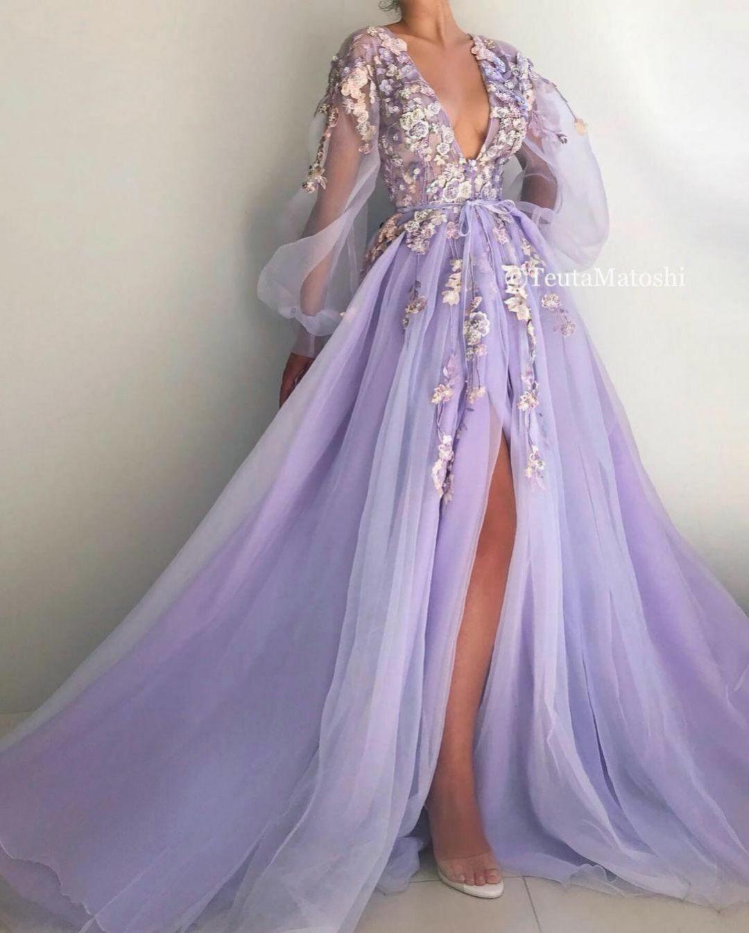 details - lila, lila kleid, farbe - organdy kleid stoff