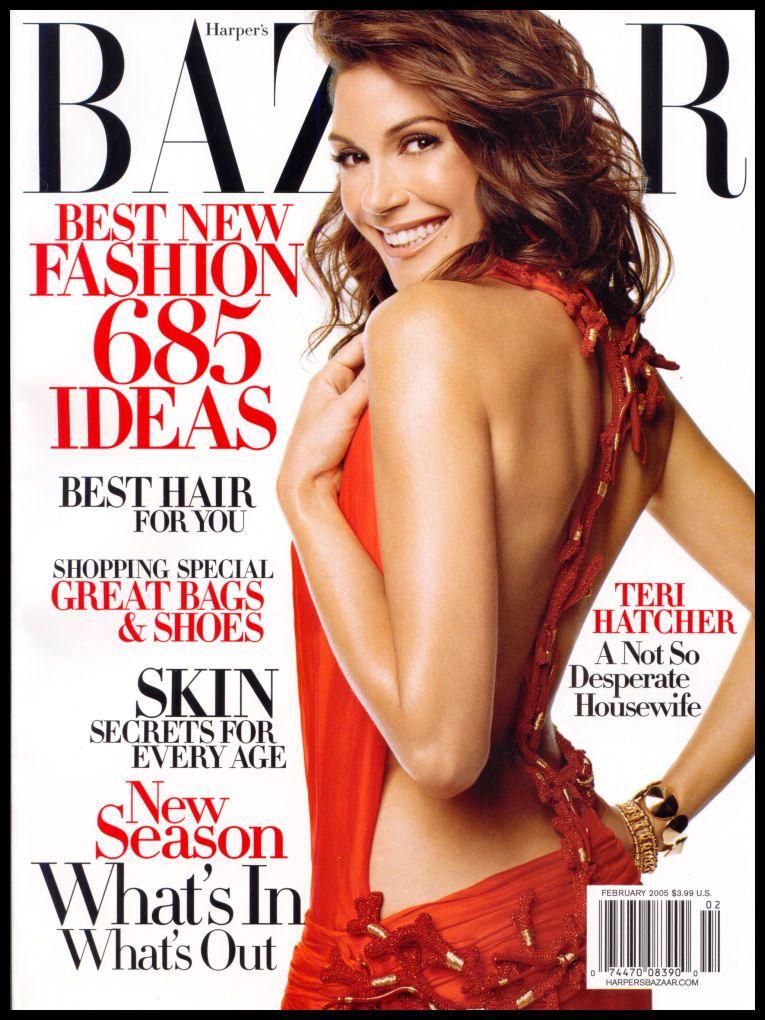 Bazaar February 2005 - Teri Hatcher
