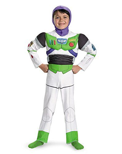 Buzz Lightyear Boyu0027s Deluxe Toy Story Costume Disguise Costumes //.amazon  sc 1 st  Pinterest & Buzz Lightyear Boyu0027s Deluxe Toy Story Costume Disguise Costumes http ...