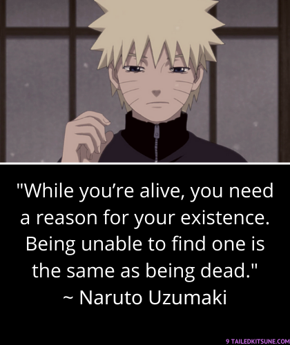 Top 20 Inspirational Quotes From Naruto – 9 Tailed Kitsune