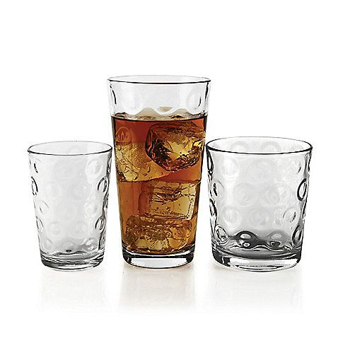 Circle 30-Piece Drinkware Set