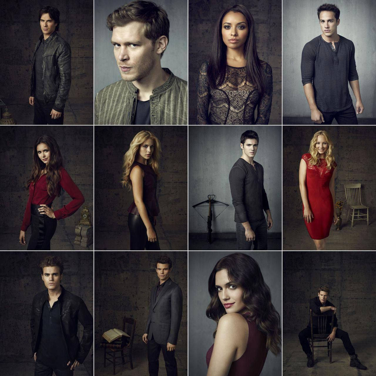 The Vampire Diaries season 4 cast portraits #BonnieTyler | Bonnie