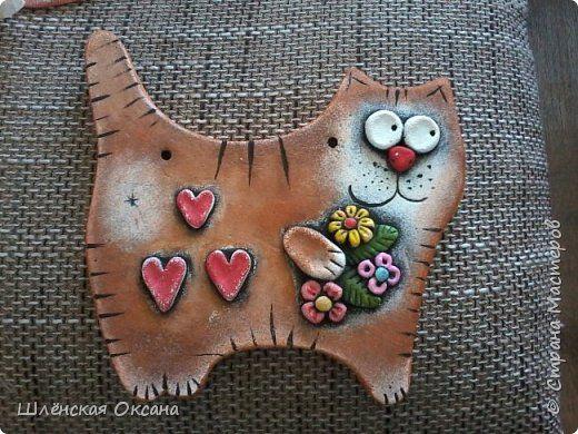 кот,просто кот с золотой рыбкой)))) фото 3 | Πηλός