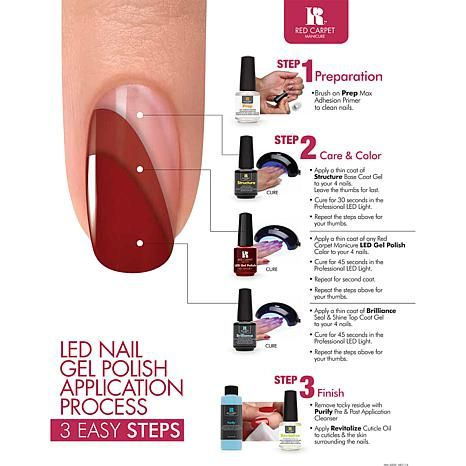 Red Carpet Manicure Gel Polish Pro Kit With