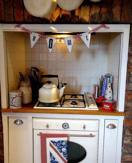 wooden home bunting