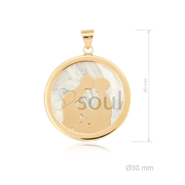 """Colgante Mamá """"Redondo"""" - Soul Collection"""