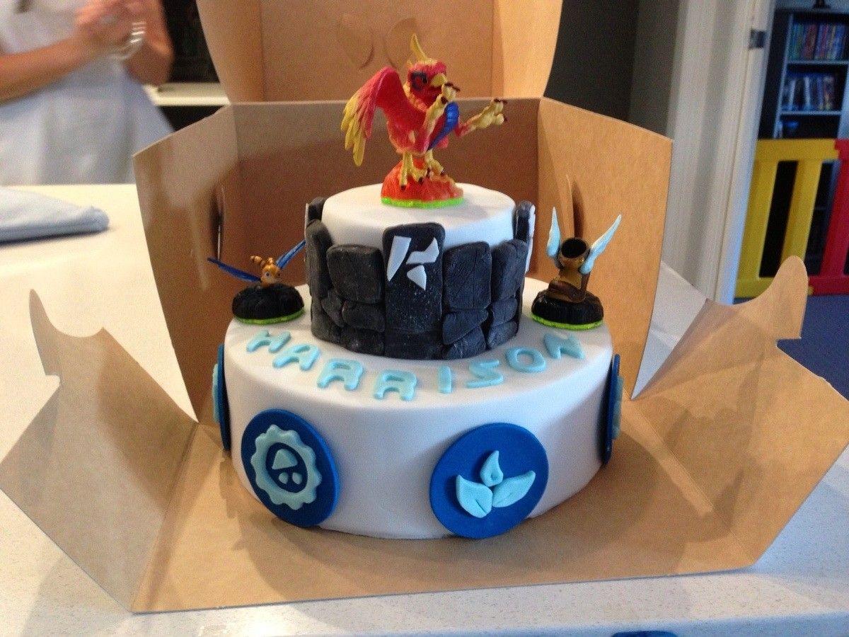 Skylanders cake Imgur Cakes Pinterest Skylanders Cake and