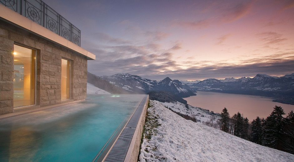 2c0774f78b8 5 Star Spa Hotel Lucerne  Villa Honegg  - scenic lake   mountain views