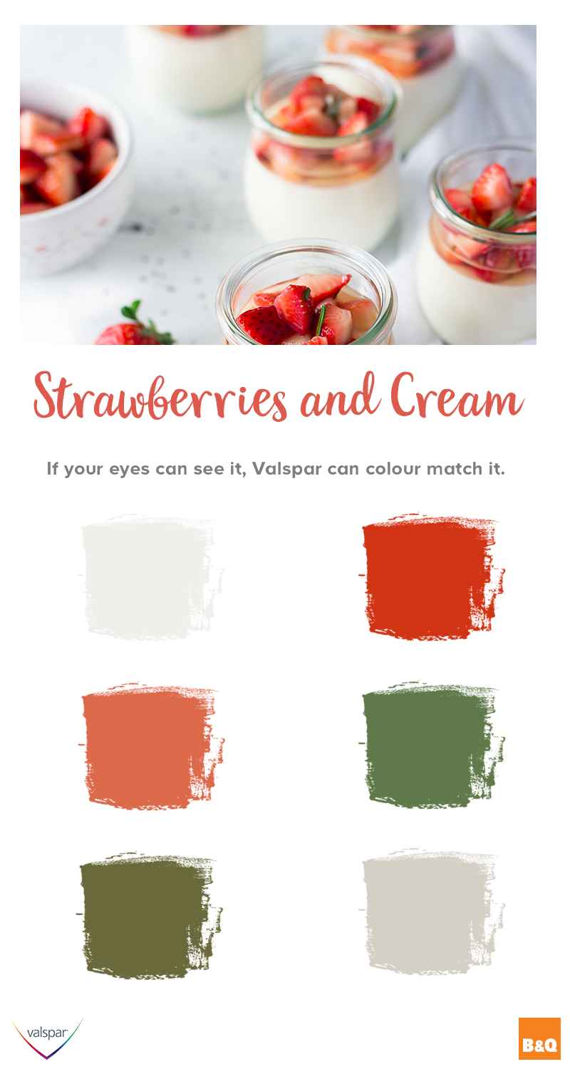 Bring home the strawberries and cream from wimbledon with these bold paint shades if your eye can see it valspar can colour match