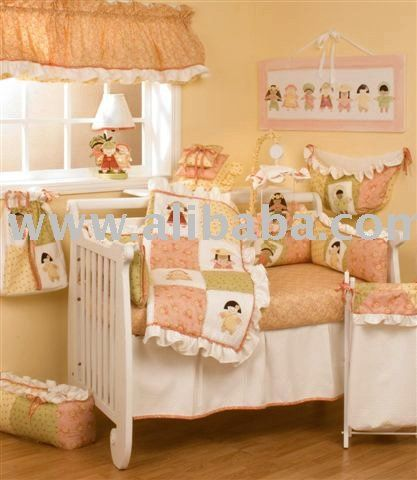 Peach Bedding Bing Images Cream Boutique Baby Crib Sets