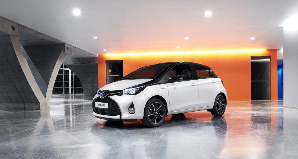 2016 Toyota Yaris Hybrid Bi Tone Carfanboys Com Yaris Toyota
