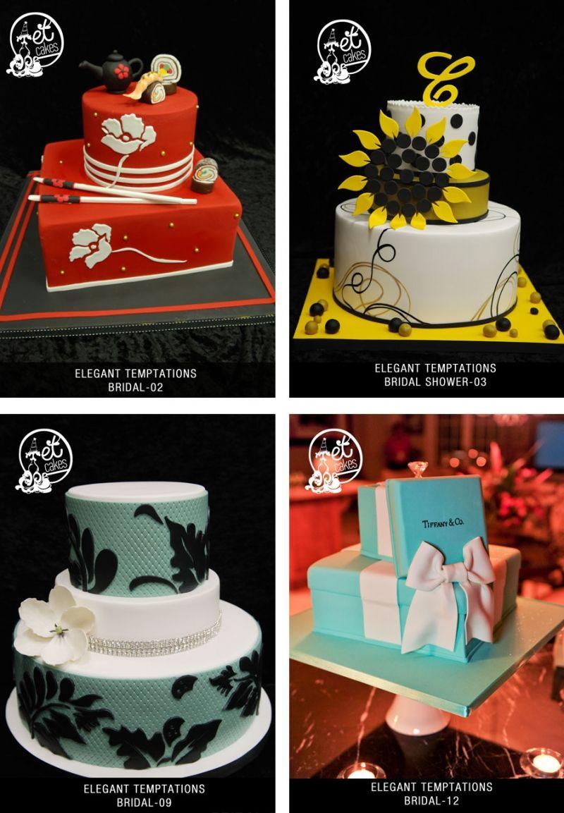 Bridal Showers Custom Cakes Miami Cake Shop Elegant