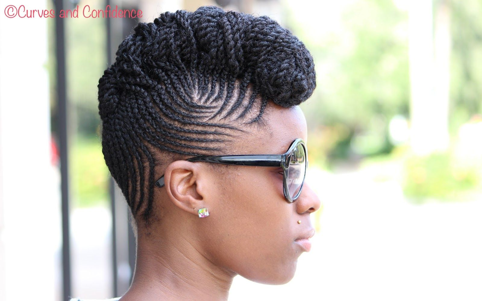 Natural Hair Updo, Hair Updo And Updo