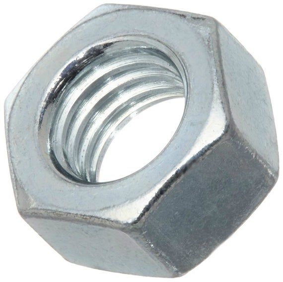 1000 Qty 1 4 20 Sae Zinc Plated Coarse Thread Finished Hex Nuts Bcp294 In 2020 Zinc Plating Hex Nut Coarse Thread