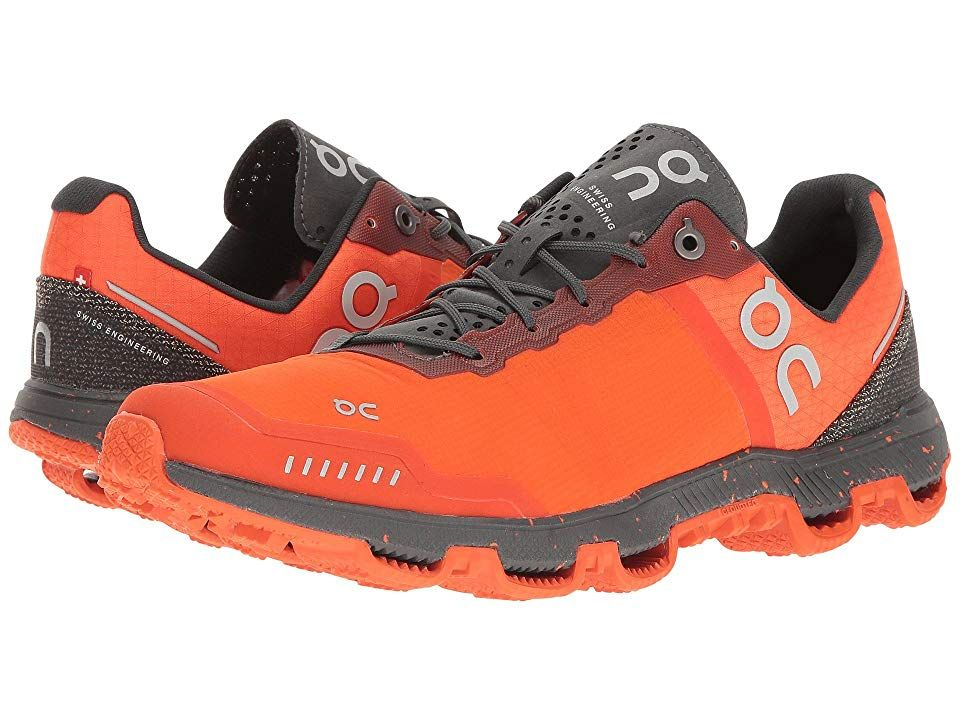 Flame//Shadow On Running Mens Cloudventure Peak Trail Running Shoes