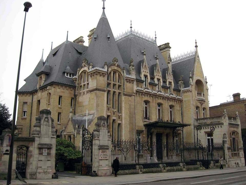 Art Nouveau - Hôtel (Particulier) Bouctot Vagniez au 36 rue des Otages à Amiens