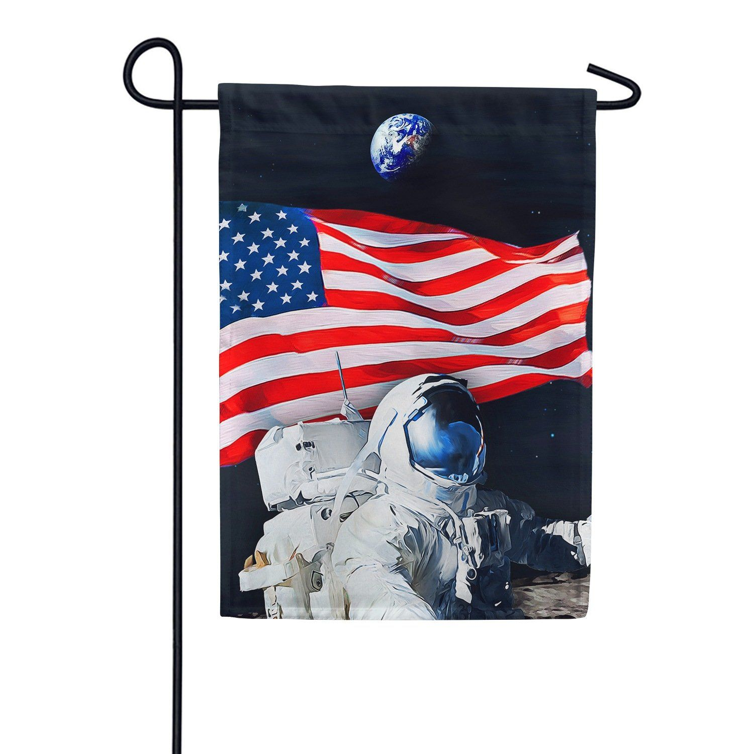 Selfie With The World Double Sided Garden Flag In 2020 Flag Garden Flags American Flag