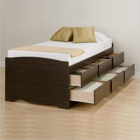 Storage Beds Walmart Com Bed Frame With Drawers Platform Bed