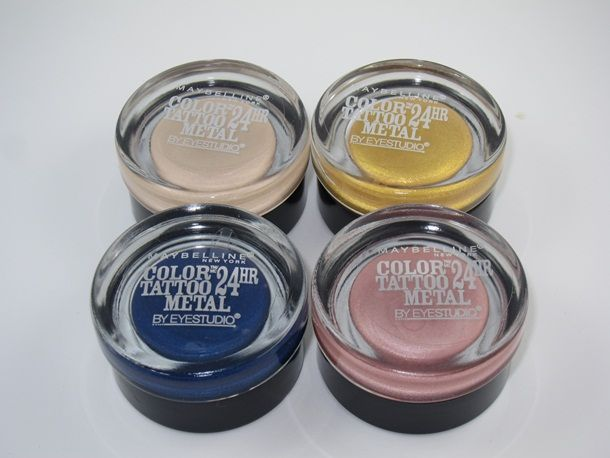 Maybelline Inked In Pink Color Tattoo Metal Eyeshadow Review Swatches Musings Of A Muse Maybelline Color Tattoo Color Tattoo Pink Color