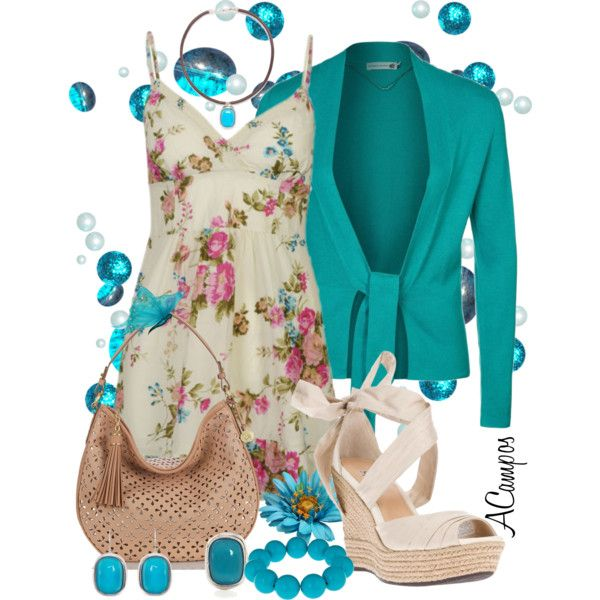 """""""Summer Fun"""" by anna-campos on Polyvore"""