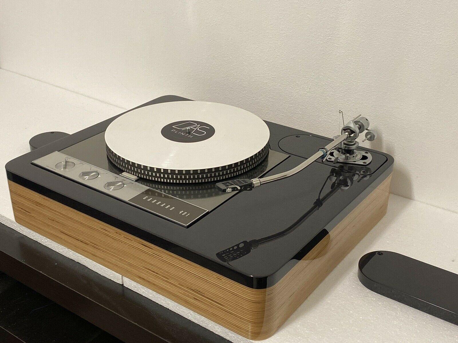 Lacquert Hq Birch Plywood Black Mdf Garrard 401 Long Version 9 12 Plinth Ebay In 2020 Turntable Record Player Record Players Vinyl Player