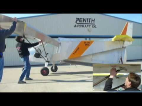 Folding Wings Option For Storage And Trailering Zenith Stol Ch 750 Light Sport Utility Kit Plane Kit Planes Light Sport Aircraft Stol Aircraft