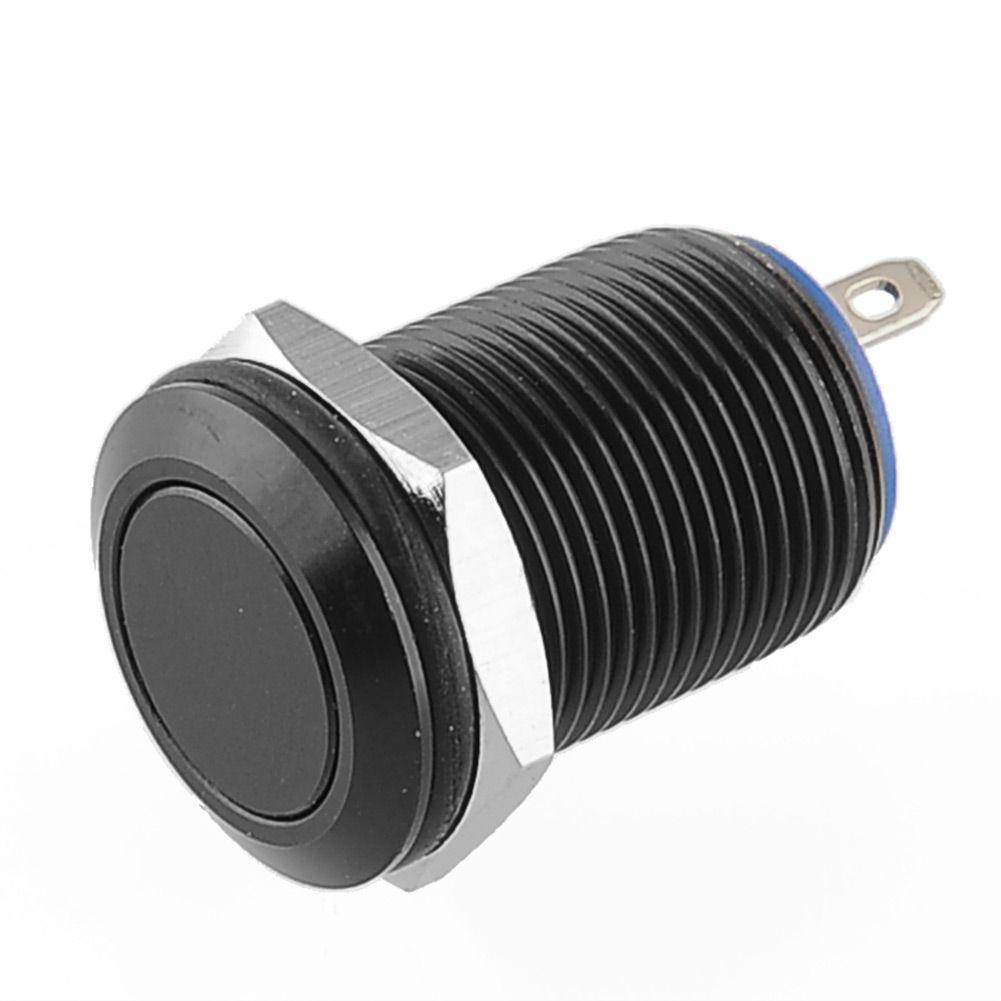 $1.77 (Buy here: https://alitems.com/g/1e8d114494ebda23ff8b16525dc3e8/?i=5&ulp=https%3A%2F%2Fwww.aliexpress.com%2Fitem%2FBlack-Aluminum-12mm-2A-36V-1NO-Resetable-Momentary-Metal-Push-Button-Switch-Flat-Pin-Terminals-Boat%2F32626207106.html ) Black Aluminum 12mm 2A/36V 1NO Resetable Momentary Metal Push Button Switch Flat Pin Terminals Boat DIY for just $1.77