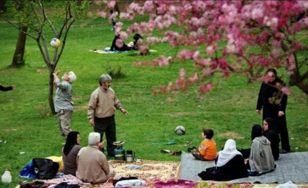 Sizdah Bedar Persian Sizdebedar Lit