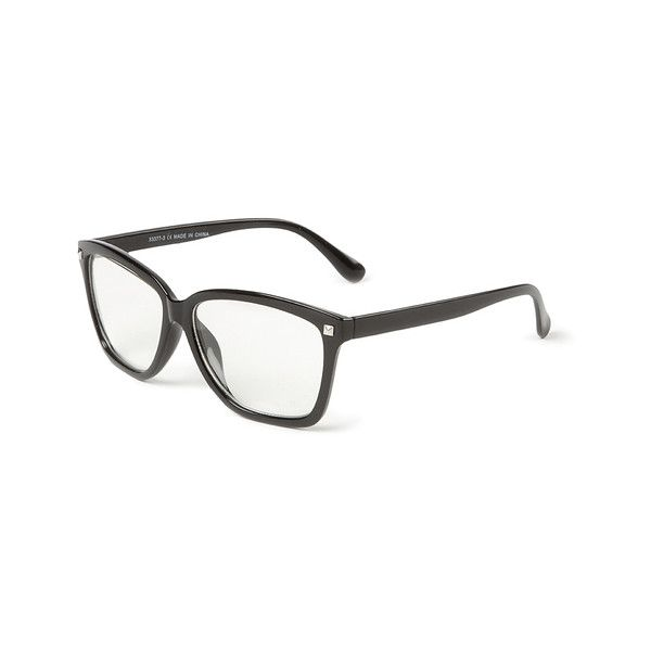 Girls Eyeglass Frames _ Geek & Fake Glasses | Claire's (€4,56) ❤ liked on Polyvore