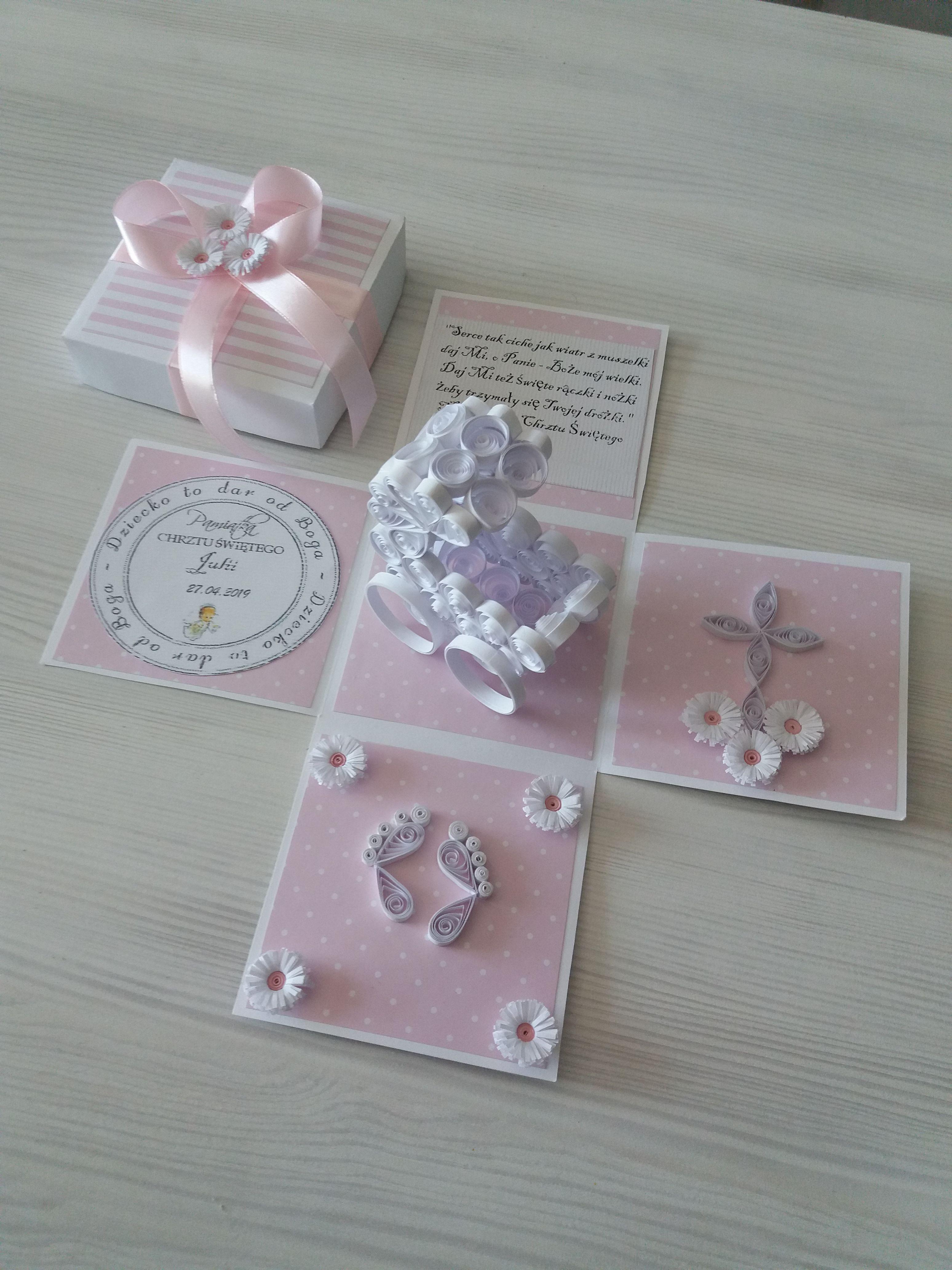Pin Na Quilling Kartka Box