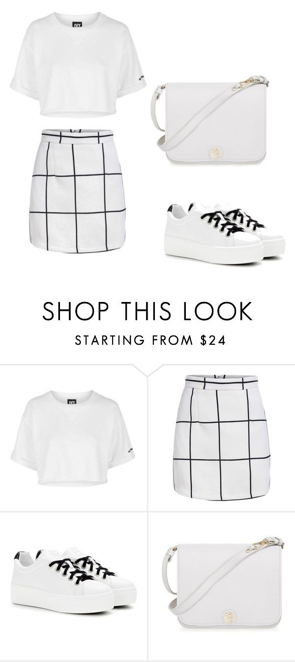"""Untitled #678"" by teszter0528 ❤ liked on Polyvore featuring Topshop, Kenzo and Furla"