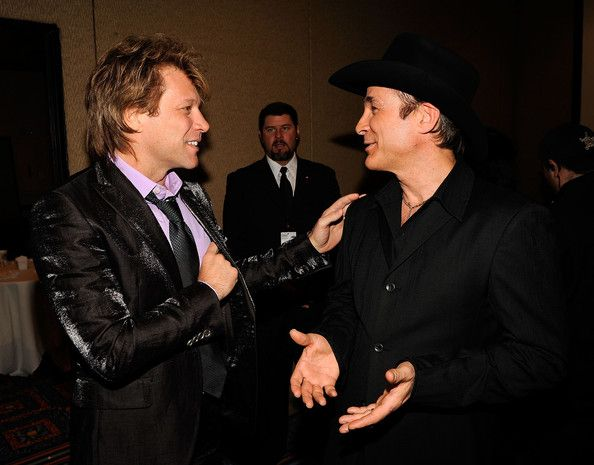 Jon Bon Jovi Photos - 40th Annual Songwriters Hall of Fame Ceremony - Cocktails and Backstage - Zimbio