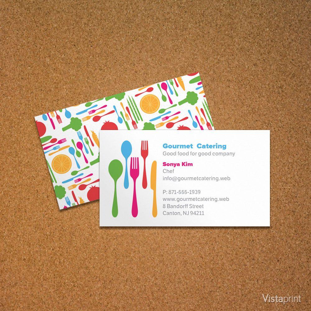 Personal Chef Business Card | Vistaprint | Ebook | Pinterest ...