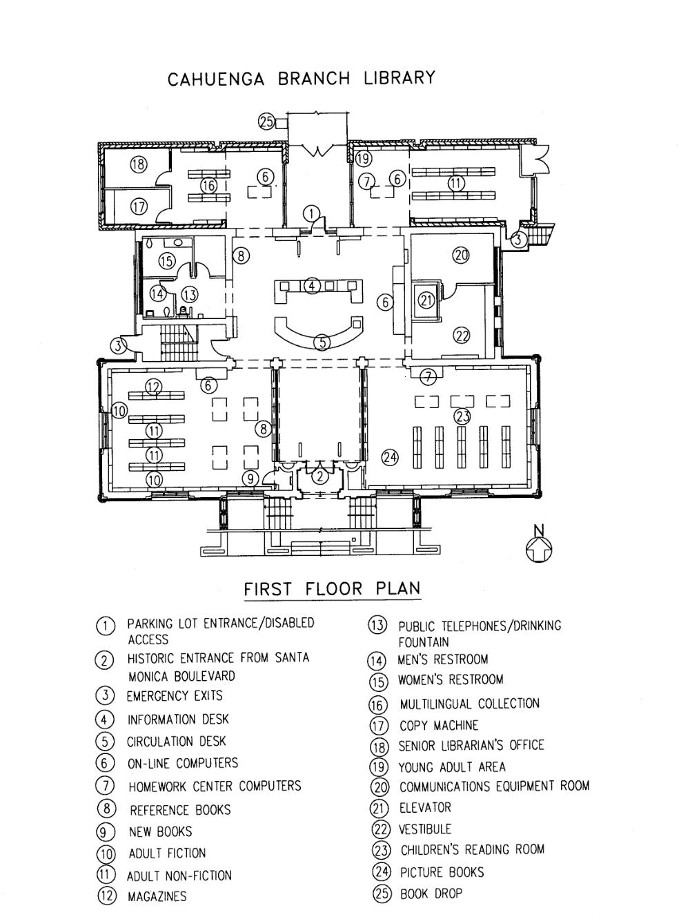 Los Angeles Public Library Plan Google Search Library Floor Plan Library Plan Public Library Design