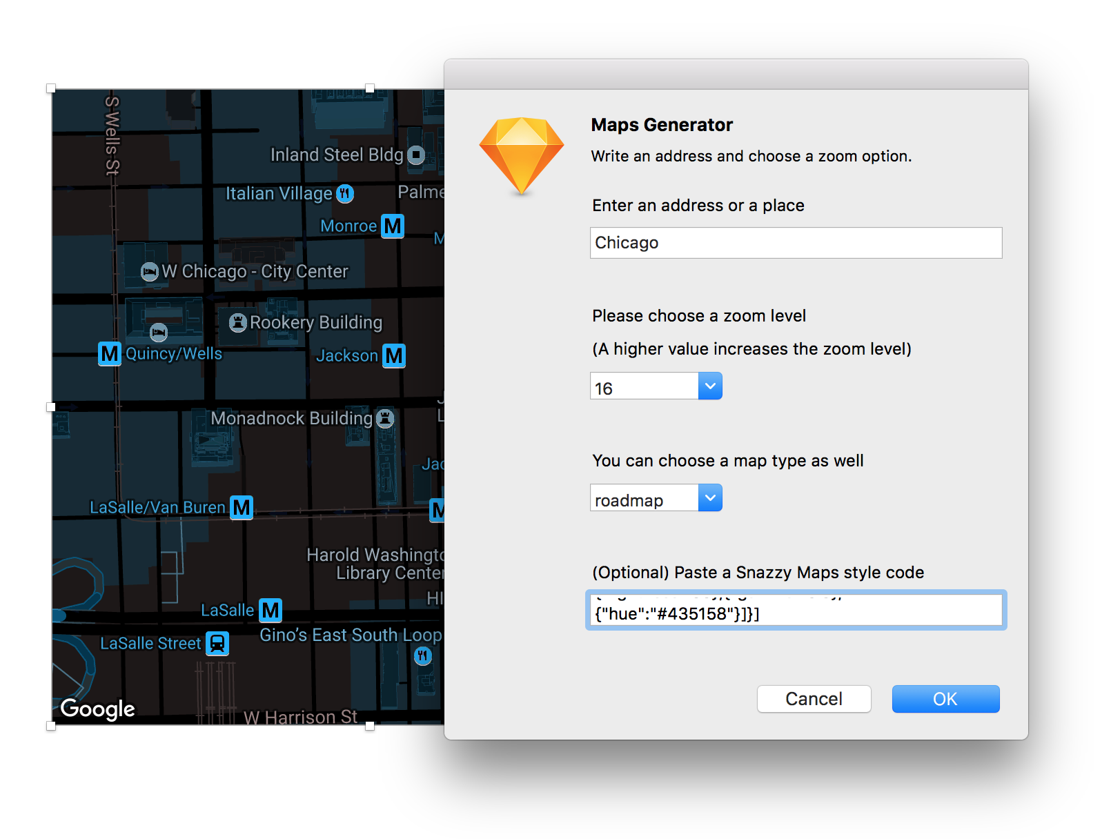 Map Generator Sketch Plugin A Plugin To Fill A Layer With A Map - Location map generator