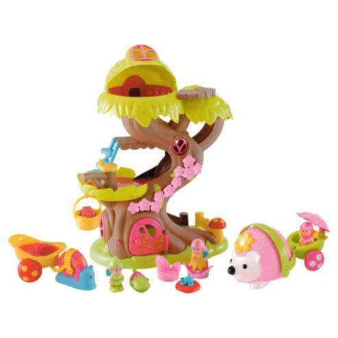 Elc Happyland Forest Treehouse 3 Piece Set Tree House