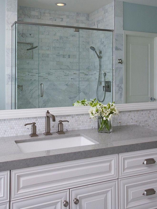 Gray Countertop Options : . Bathroom with grey countertop. Bathroom grey countertop ideas ...