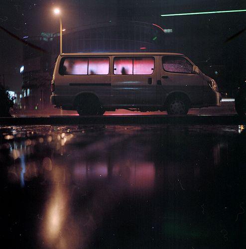 wuquan sanren nachtfotografie straatfotografie zwaartekracht herfst late nachten neon