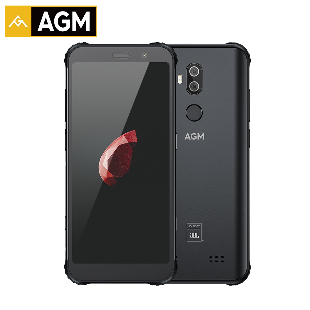 "AGM X3 6GB 64GB IP68 Android 8.1 Snapdragon 845 5.99"" Rear"