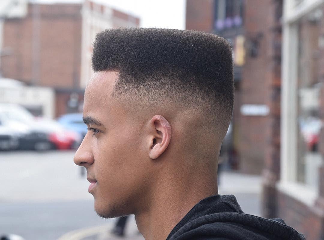 Faded Flattop Haircuts For Black Men 2018 High Top Fade Haircuts