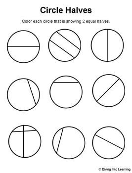 Shape Fractions | Worksheets, Math and Gaming
