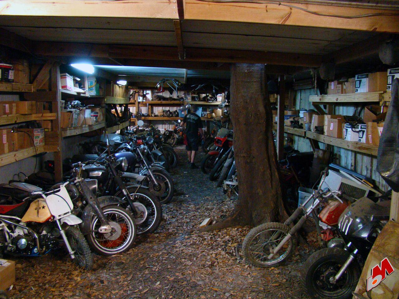 Beautiful Motorcycle Garages 4 Vintage Garage