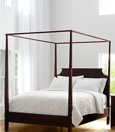 New Market Maple Four Poster Bed Traditional Beds
