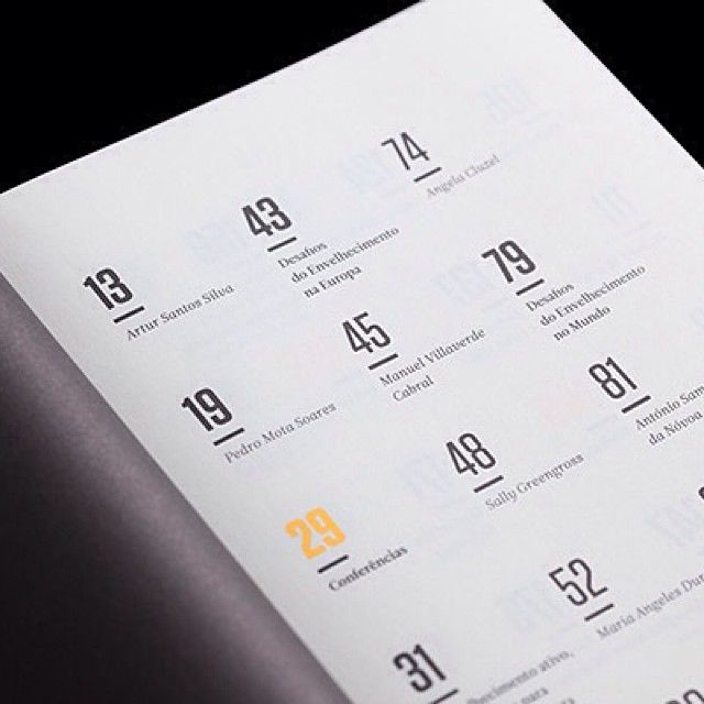 Content pages can look pretty too! #design #designinspiration - resume book