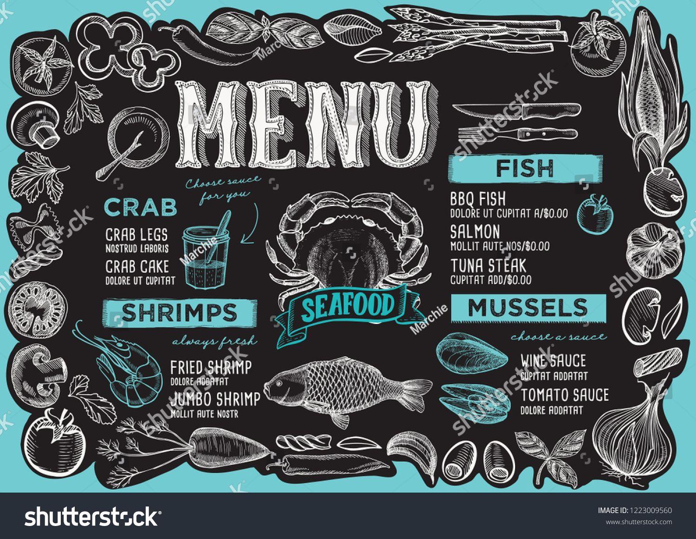 Free Chalkboard Menu Template from i.pinimg.com