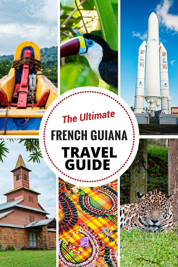 CheeseWeb's Travel Guide to French Guiana
