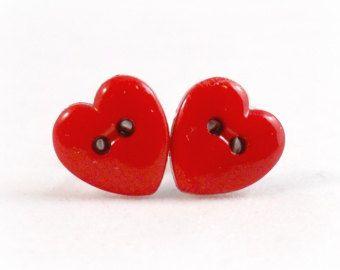 cute heart earrings Earrings Valentine/'s Day Gift,Earrings for Girls