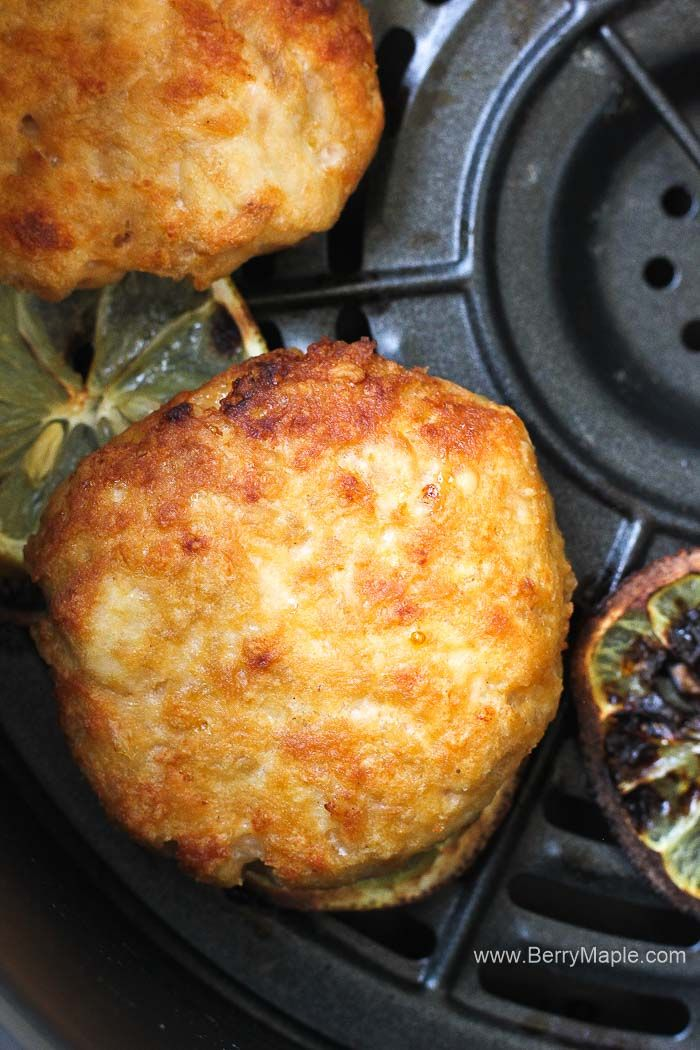 Try this Air fryer salmon cakes, so delicious and healthy