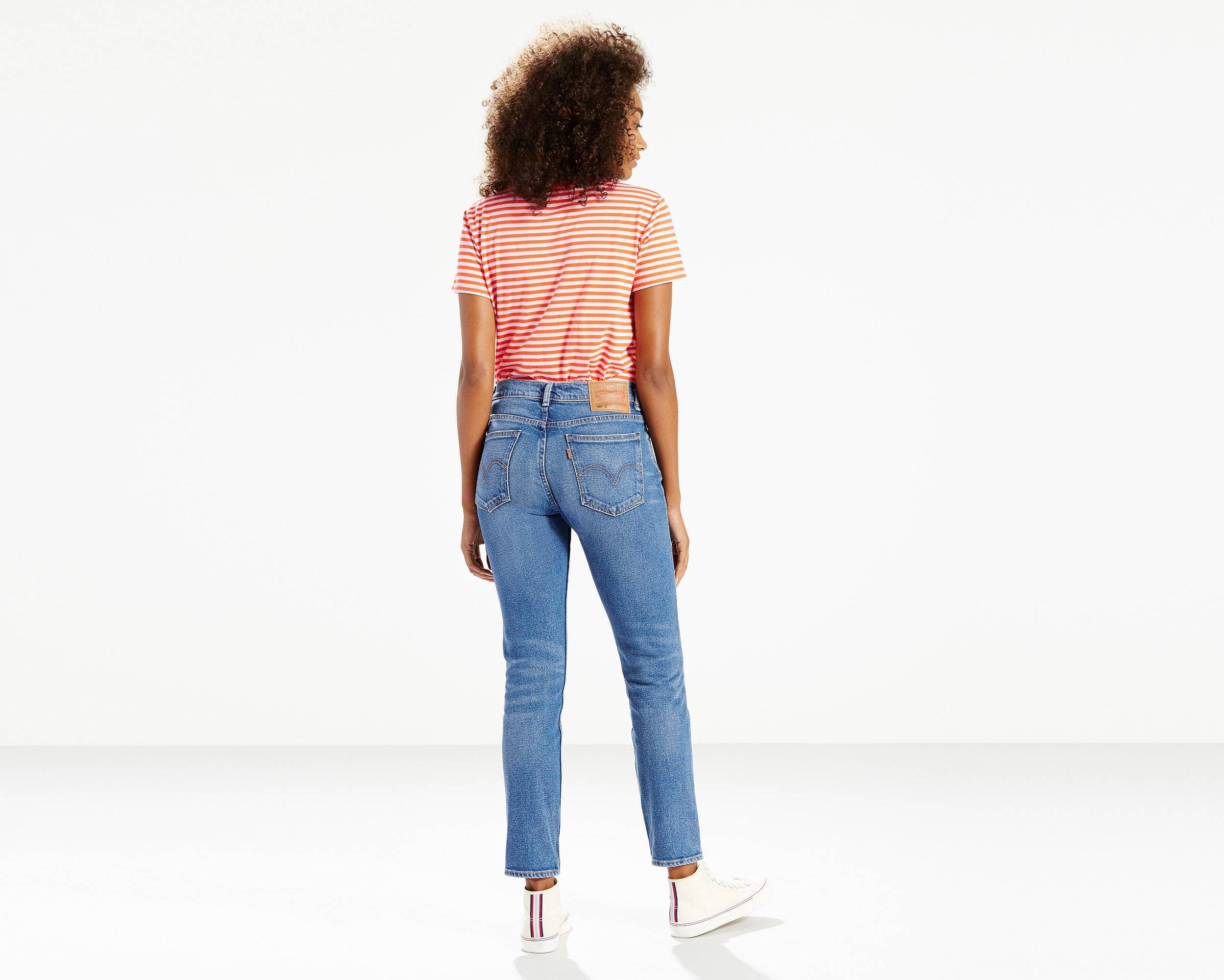 505™C CROPPED JEANS - BLUE CHEER by Levi s  b50894e40fe